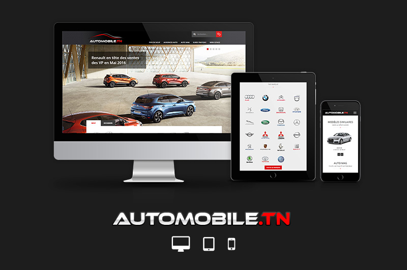Automobile.tn se met au responsive design !